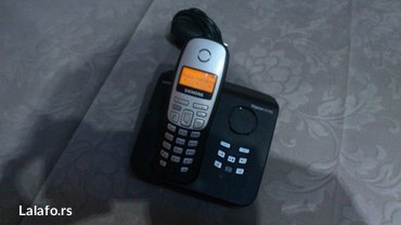 Siemens-c25 - Srbija: Dobar Siemens Gigaset bezicni fiksni telefon,potpuno ispravan.Sa