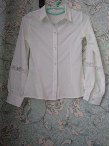 блузки для школы в Кыргызстан: Модная школьная блузка 9-10 лет
