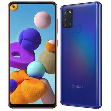 Samsung | Синий | Б/у | Гарантия, Сенсорный, Отпечаток пальца