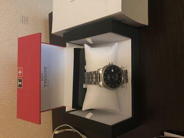 Orjinal briliyant qaşlı Tissot Saat satılır. 12 ədəd briliyant daş