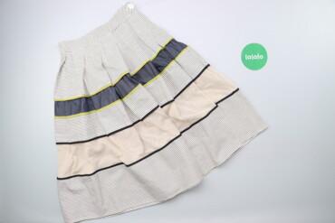 Личные вещи - Украина: Жіноча дизайнерська спідниця у смужку DolceDonna, p. S    Довжина: 66