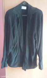 Personalni proizvodi | Vrnjacka Banja: Lepa elegantna crna kosulja,zenska,velicina l