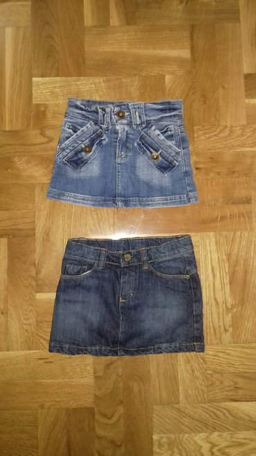 Od teksasa - Srbija: Teksas suknjice malo nosene za dete od 3 god.Svetla suknjica prodata
