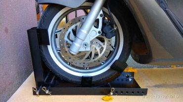 Nosac/drzac/fixator Moto tocka, za parking/prevoz motorcikala/skutera, - Borca