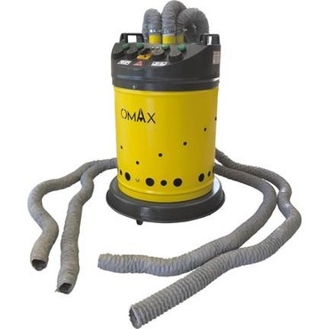 Omax Sıcak Hava Üreticisi (Ahtapot)