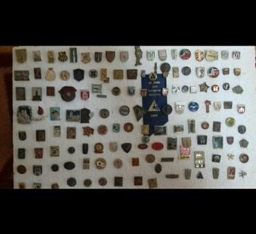 Značke iz cele bivše SFRJ 135 komada - Sjenica