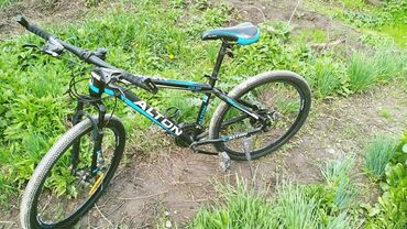 Продаю горный велосипед почти новый пару раз ездили сост идеальный