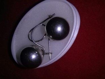 srebrne mindjuše(  idealno idu sa prstenom sa kuglicama  ) Novo nenoše - Kragujevac