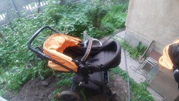 Коляски - Кыргызстан: Продаю коляску производство германия, имеется переноска, состояние