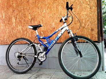 trinx велосипед производитель в Кыргызстан: Срочно!!! В идеальном состояний! корееский велосипед. Двойной амортиз