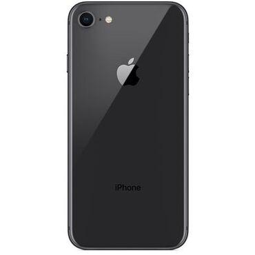 iphone xs max купить бу в Кыргызстан: Б/У iPhone 8 64 ГБ Черный