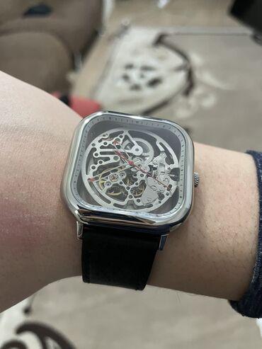 Часы xiaomi cigа design Механические с автозаводом Механизм скелетоны