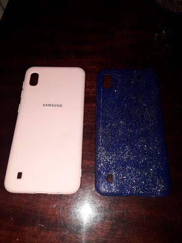 ipod чехол в Азербайджан: Samsung A10 modeline cexollardi,kaburalardi,rozoviy ve goy zerli