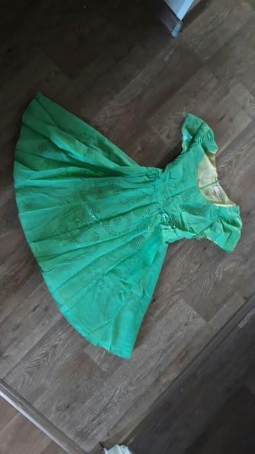 платье из вискозы на лето в Кыргызстан: Платье новое сарафан на лето из нежной парчи с подкладом, пышное и