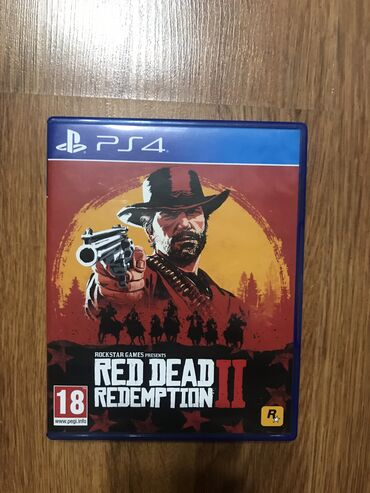 Sony xperiya - Azərbaycan: Red dead redemption 2 əla vəziyyətdə ( 4 gün oynanılıb)