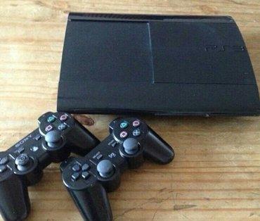 Sony ps3 slim 500gb + 40игр, прошивка 4. 82, в комплекте 2 джойстика и в Бишкек