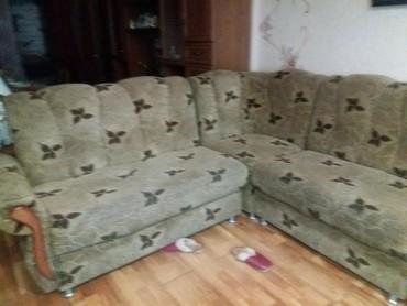 стулья кресла дерева в Кыргызстан: Диван угловой с креслом