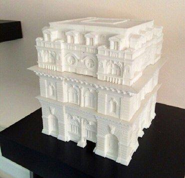 Xırdalan şəhərində 3D Maketlerin Plastik Sekilde Cixarilmasi Qiymet Qram Ve cixarilma