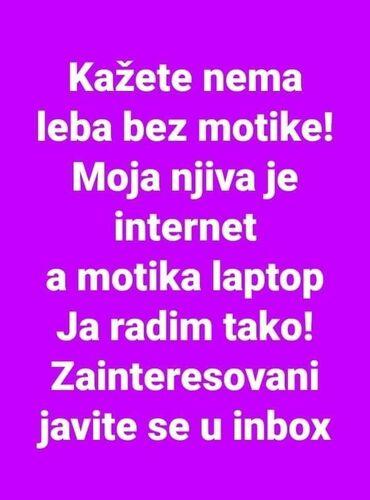 Rad preko interneta - Srbija: Danas svako od nas živi na internetu veći deo svog života. Otvorimo