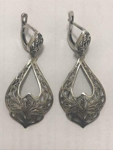 Продаю серебряные серьги (925 проба) в Бишкек