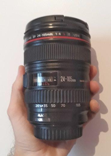 Canon lensi 24-105 1:4 l is USM tep tezedi islenmis deyil qiymeti в Bakı