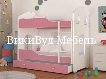 Детская КРОВАТЬ ДОМИК 2х ярусная от в Бишкек