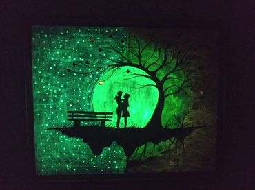 Светящиеся картины!!! отличный подарок в Лебединовка