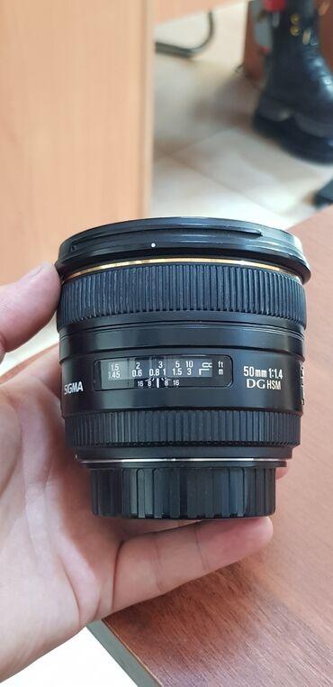39 объявлений | ЭЛЕКТРОНИКА: Объектив Sigma AF 50mm f/1.4 EX DG HSM Canon EF  ЦЕНА: 200$