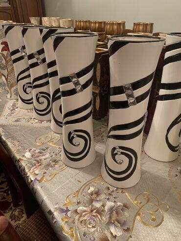 Антикварные вазы - Кыргызстан: Вазы разные размеры разных видов цена от 250 до1000сом