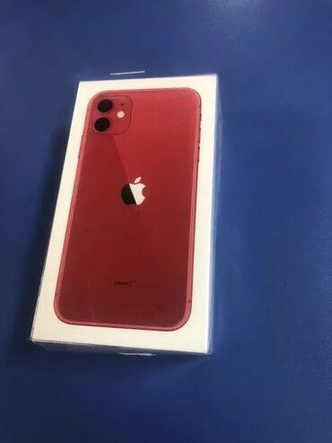 Новый IPhone 11 64 ГБ Красный