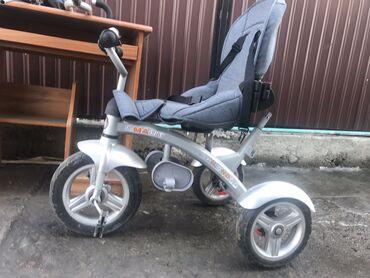 детский велосипед навигатор трайк в Кыргызстан: Велосипед(коляска) детский,очень хорошего качества,всё работает,брали