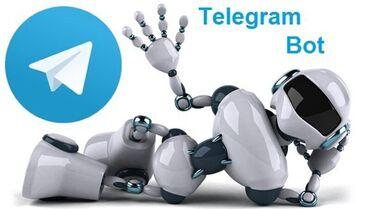 моушн дизайн бишкек в Кыргызстан: Telegram ботЧат бот заменит не очень удобный FAQ на сайте, который ещё