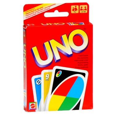 Уно (Uno) - соревновательная настольная в Бишкек