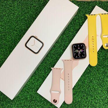 Apple   watch 4/44mm Gold  состояние идеальное   комплект   2 ремешка