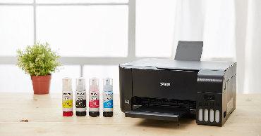 hp color laserjet cp1215 в Кыргызстан: Цветной МФУ Epson L3100 (принтер/сканер/копир, A4, 33/15ppm