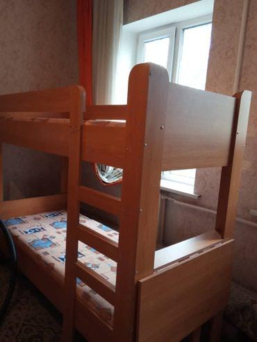 Прод 2х ярусн кровать вместе с матрасом качество Турция 14т в Бишкек