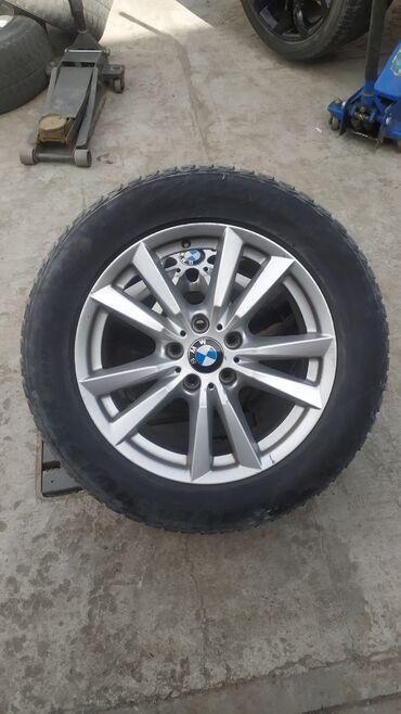 Диски с шинами на BMW, размер R-18, в идеальном состоянии, не