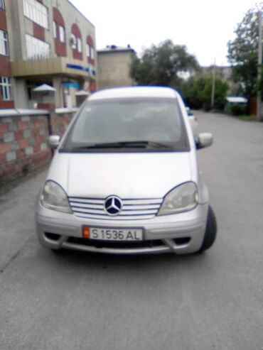 Mercedes-Benz в Кыргызстан: Mercedes-Benz Vaneo 1.7 л. 2004