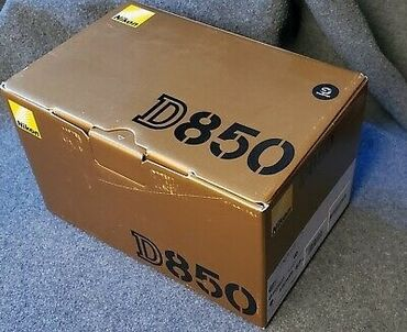 Nikon D850 camera with complete kit.new original with warranty