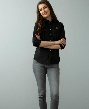 shikarnoe-vechernee-plate-v-pol в Кыргызстан: Шикарная рубашка от US POLO ASSN,идеальное состояние,отличное
