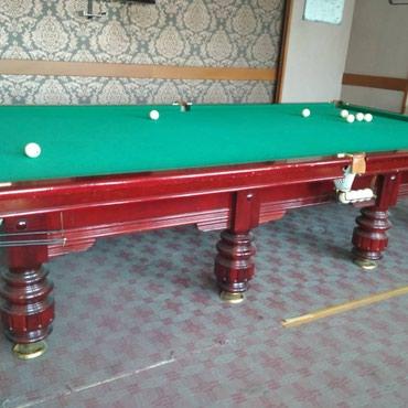 .. . Баасы договорная Продаются бильярдные столы. в Бишкек