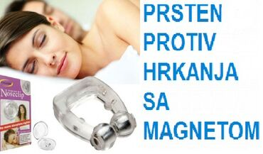 Medicinski proizvodi - Srbija: MAGNETNI PRSTEN PROTIV HRKANJA