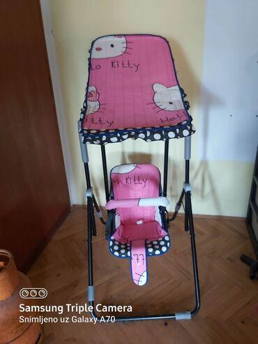 Ljuljaska za bebe - Srbija: Ljuljaška za bebe i decu. Veoma kratko korišćena u stanu, nikada nije