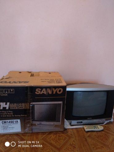 Цветной телевизор,рабочий, диагональ 14 ,35,5 см. в Бишкек
