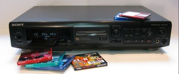 Bakı şəhərində Diskovod Sony 640 minidisk. super. 3 surat var. md-lp2-lp4.. cox