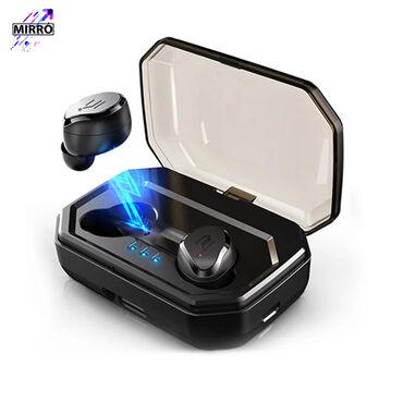 сколько стоит беспроводные наушники в Кыргызстан: TWS S8 plus V5.0 беспроводные Bluetooth наушники с сенсорным