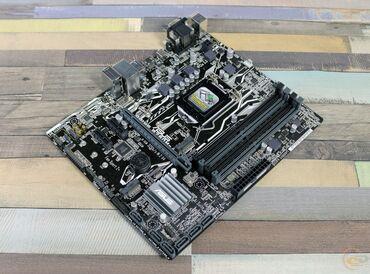 видеокарты pci express x16 3 0 в Кыргызстан: Продаю комплект Материнская плата Asus B250M-A LGA 1151 + процессор