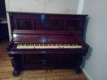 İdman və hobbi - Biləsuvar: Qedimi pianodur. Alman malidir. Qiymet 200m unvan kesle qesebesiXatire