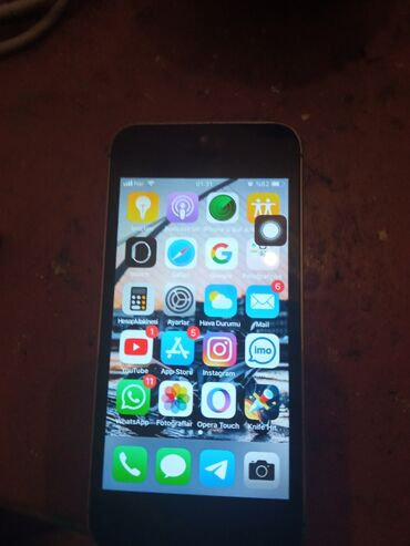 Apple Iphone - Bakı: İşlənmiş iPhone 5s 16 GB Boz (Space Gray)