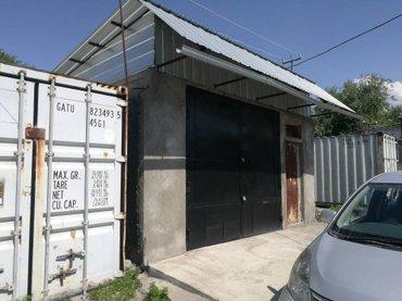 продаю гараж, гск 46а по дороге на панораму,яма углублена влево и впра в Бишкек